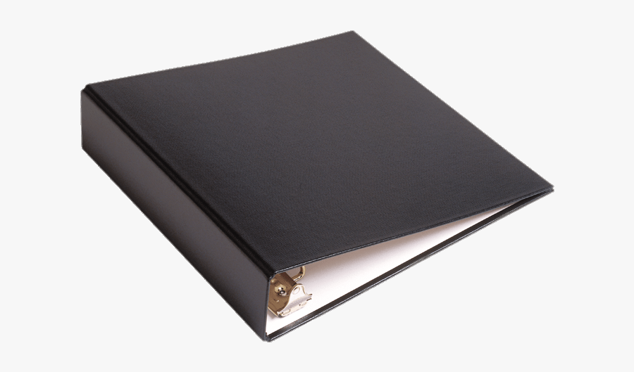 Black Binder, Transparent Clipart