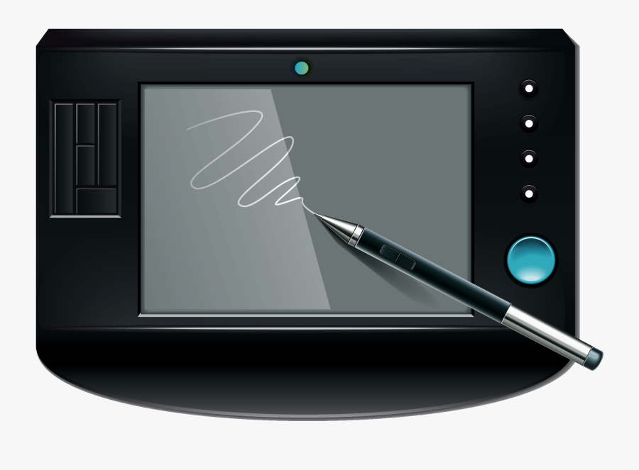Small Graphics Tablet Png Clipart - Graphic Tablet Png, Transparent Clipart