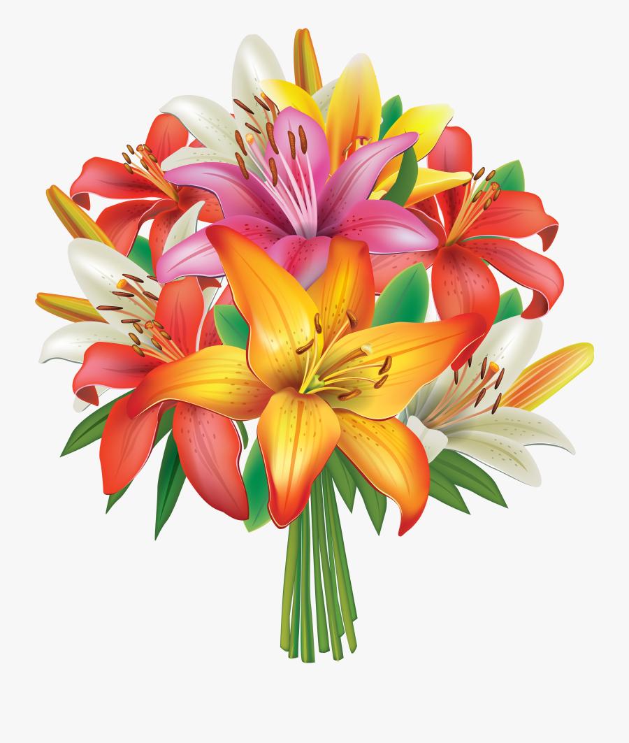 Flowers Png Image Gallery - Flower Bouquet Clipart Png, Transparent Clipart