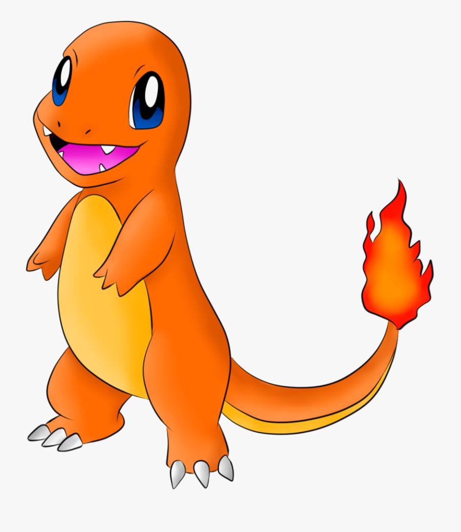 Cute Charmander Pokemon Drawings, Transparent Clipart