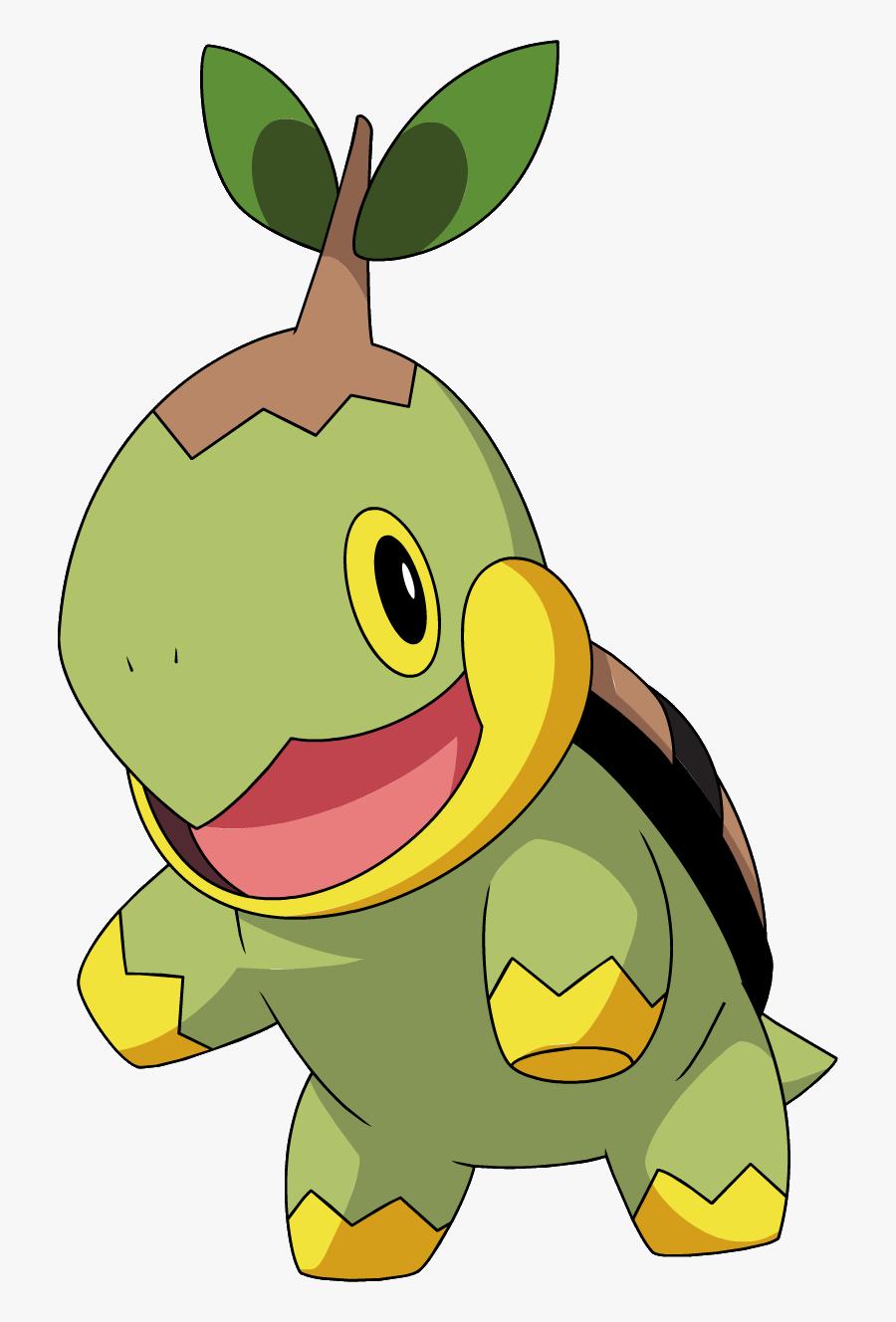 Pokemon Turtwig Png, Transparent Clipart