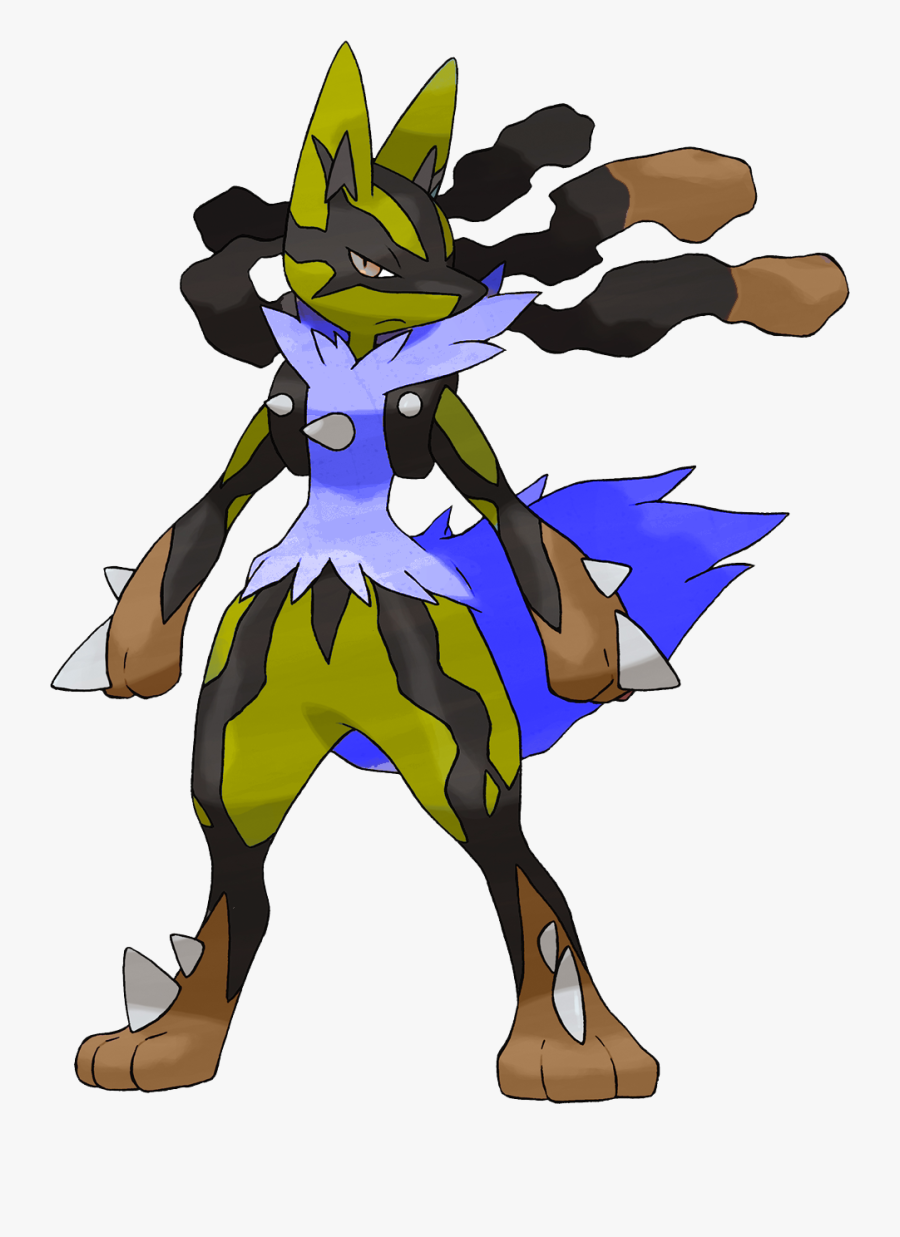 Pokemon Shiny Mega Lucario, Transparent Clipart
