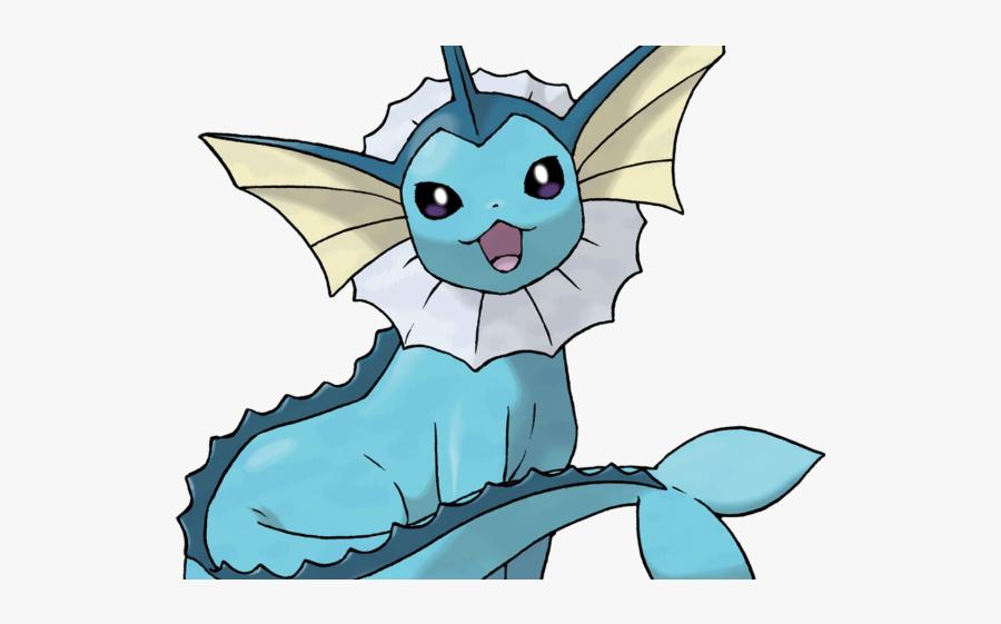 Pokemon Vaporeon, Transparent Clipart