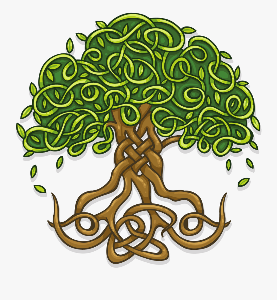 Transparent Celtic Tree Of Life Png - Celtic Tree Of Life Clipart, Transparent Clipart