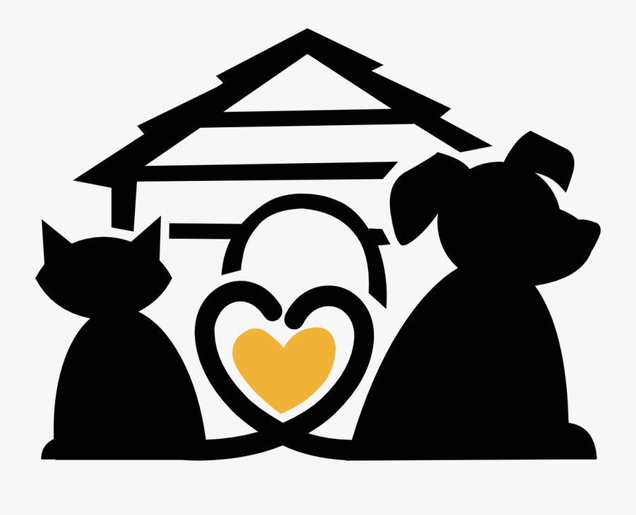 Tree Of Life Education Center - Dog Cat Heart Daycare Clipart, Transparent Clipart