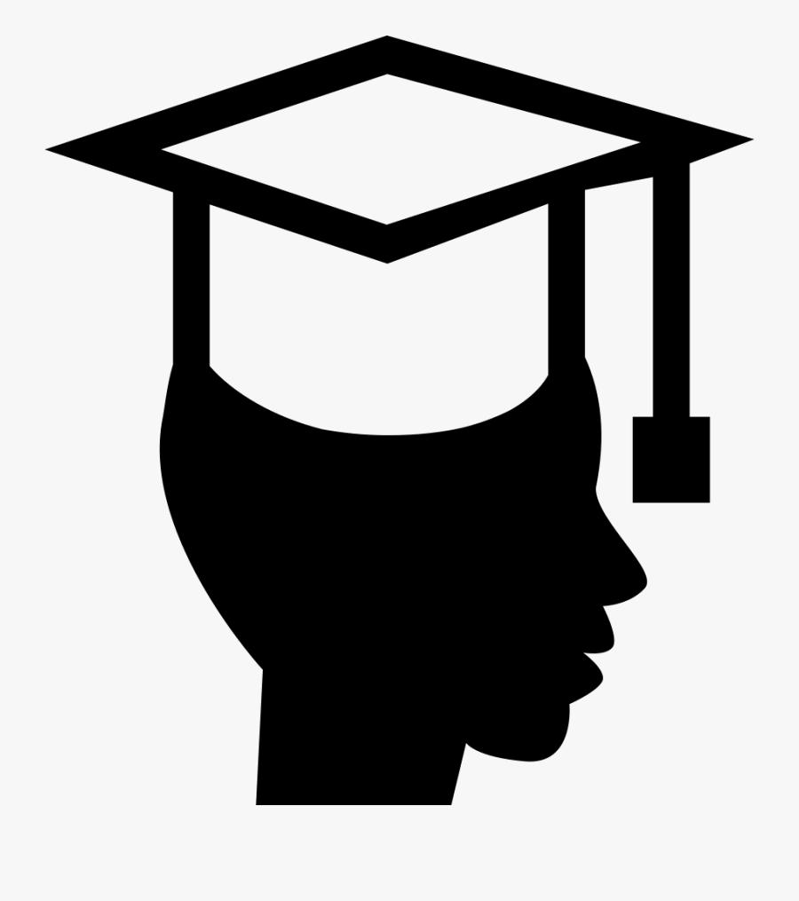 Square Academic Cap Graduation Ceremony Computer Icons - Graduation Hat Outline Png, Transparent Clipart