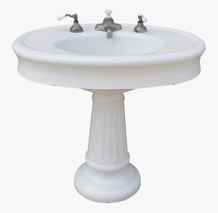 Transparent Clipart Sinks - Bathroom Sink Transparent Background, Transparent Clipart