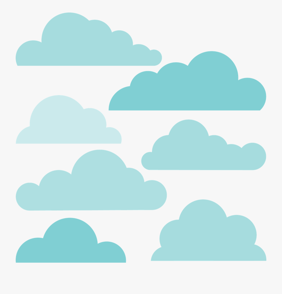 Cloud Rain Sky Shape Clip Art, Transparent Clipart
