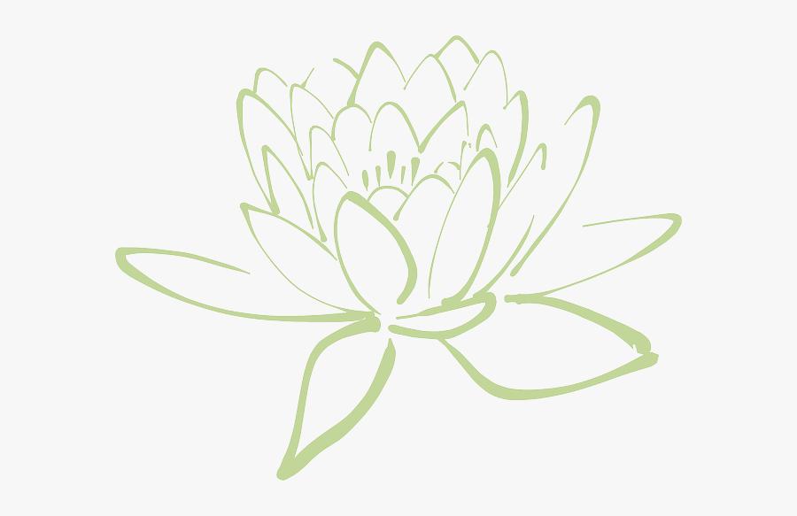 Transparent Spa Clipart - Clipart Purple Lotus Flower, Transparent Clipart