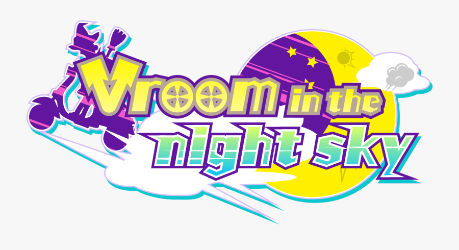 Vroom In The Night Sky Switch, Transparent Clipart