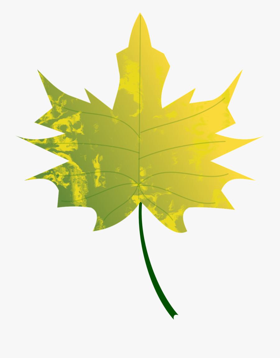 Autumn Leafs Clip Art - Green Fall Leaves Clip Art, Transparent Clipart