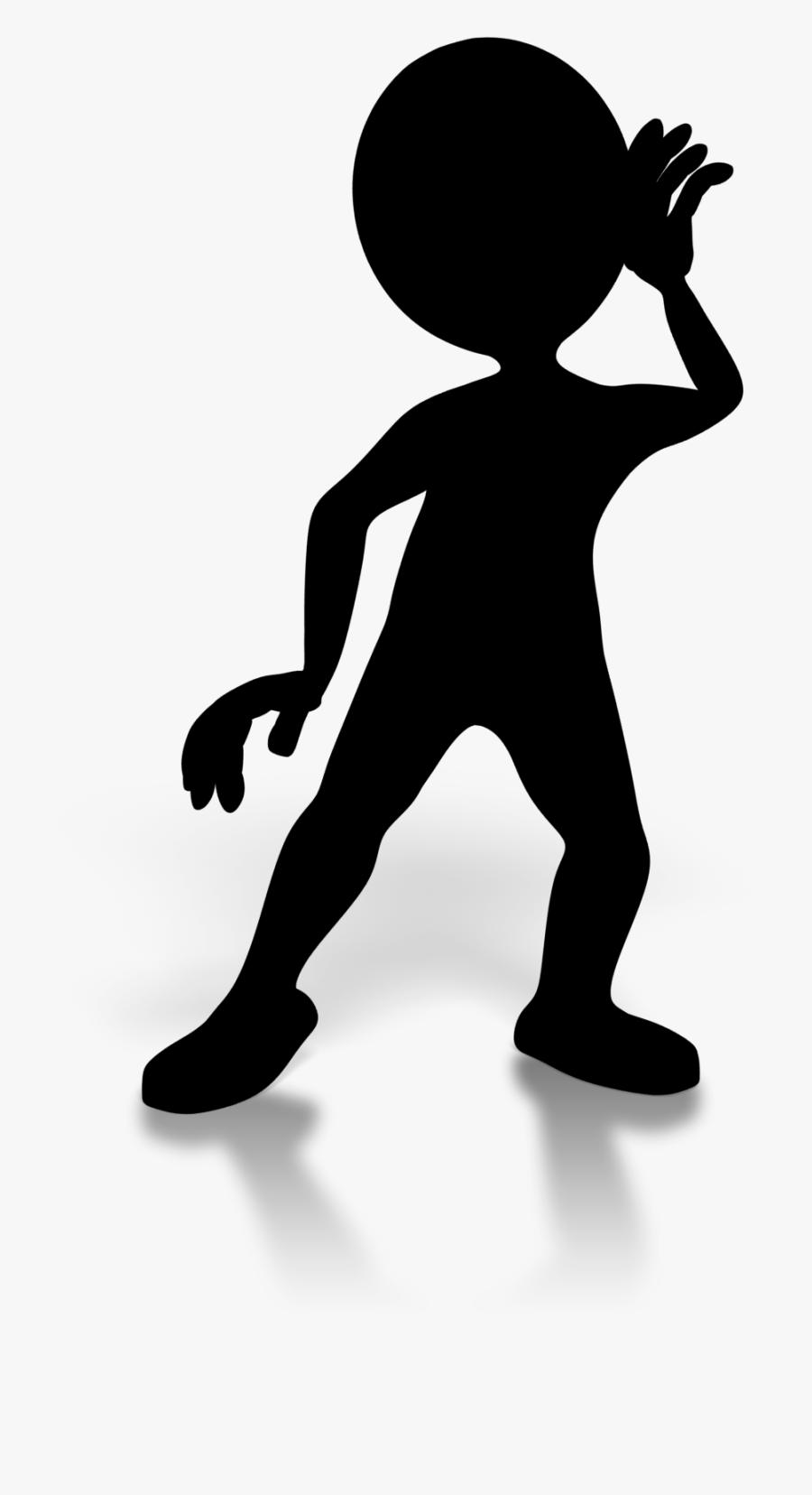 Human Behavior Shoulder Clip Art Silhouette, Transparent Clipart