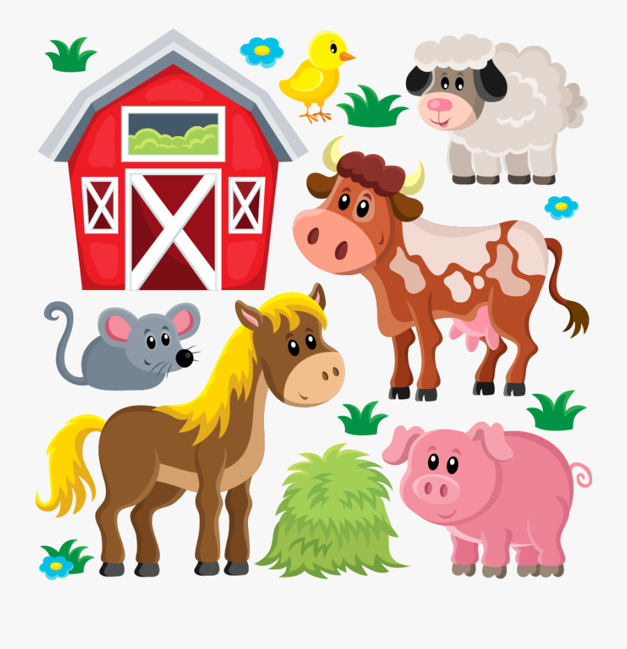 Farm Clipart Animals Png, Transparent Clipart