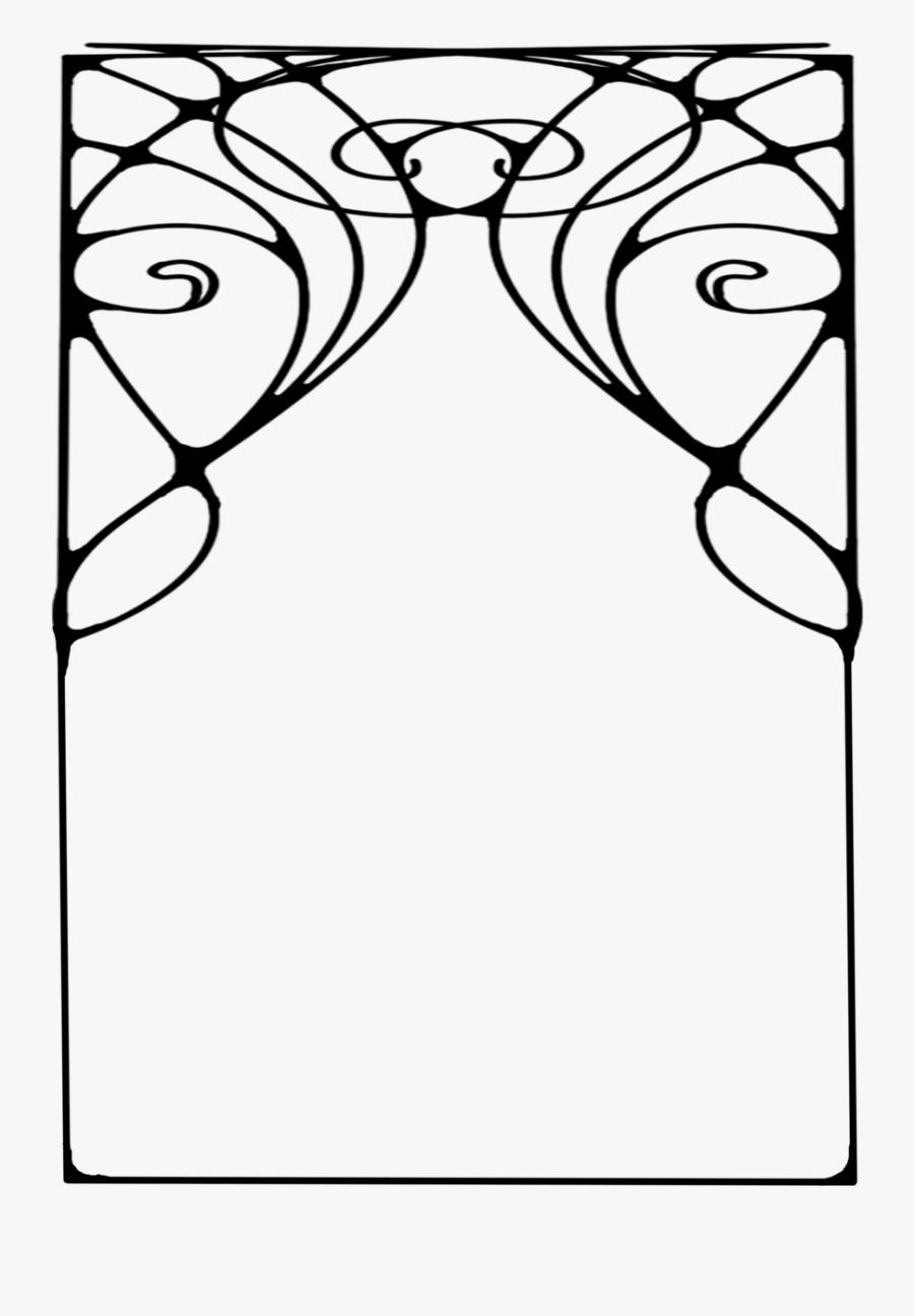 Free Art Deco Clip Art, Transparent Clipart