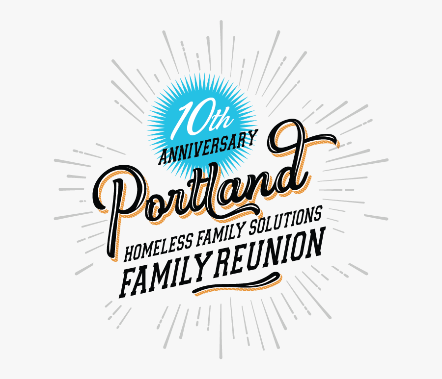 Family Reunion Png Transparent Background - Annual Family Reunion Design, Transparent Clipart