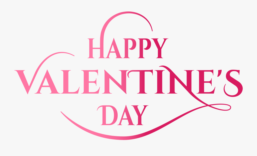 Clip Art Happy Valentines Day Font - Happy Valentine Day Png, Transparent Clipart