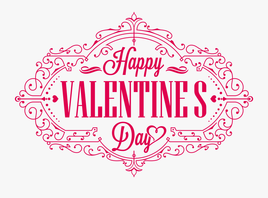 Happy Valentines Day Png Hd - Happy Valentines Day Transparent Background, Transparent Clipart