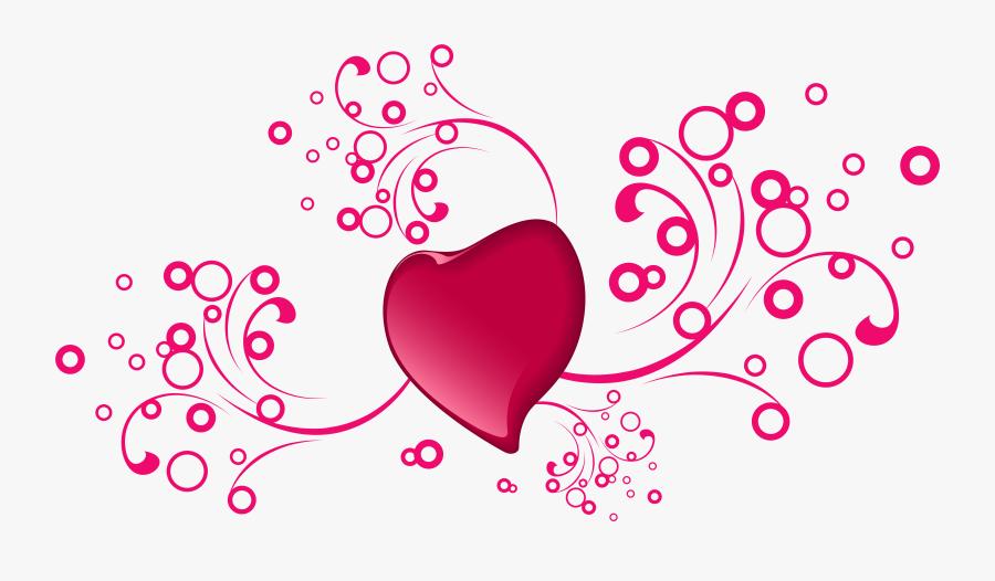 Valentines Day Clipart Transparent - Transparent Valentine Decoration Png, Transparent Clipart
