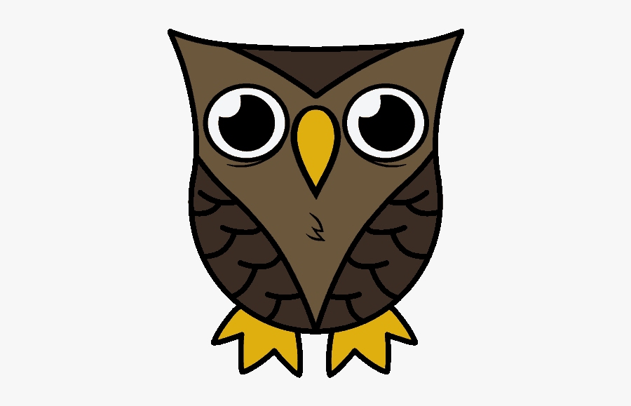 Owl Cartoon Images How To Draw A In Few Easy Steps - Owl Drawing Easy Cute, Transparent Clipart