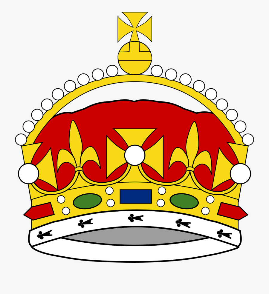 Prince Crown Clip Art Free - King George Iii Crown Drawing, Transparent Clipart