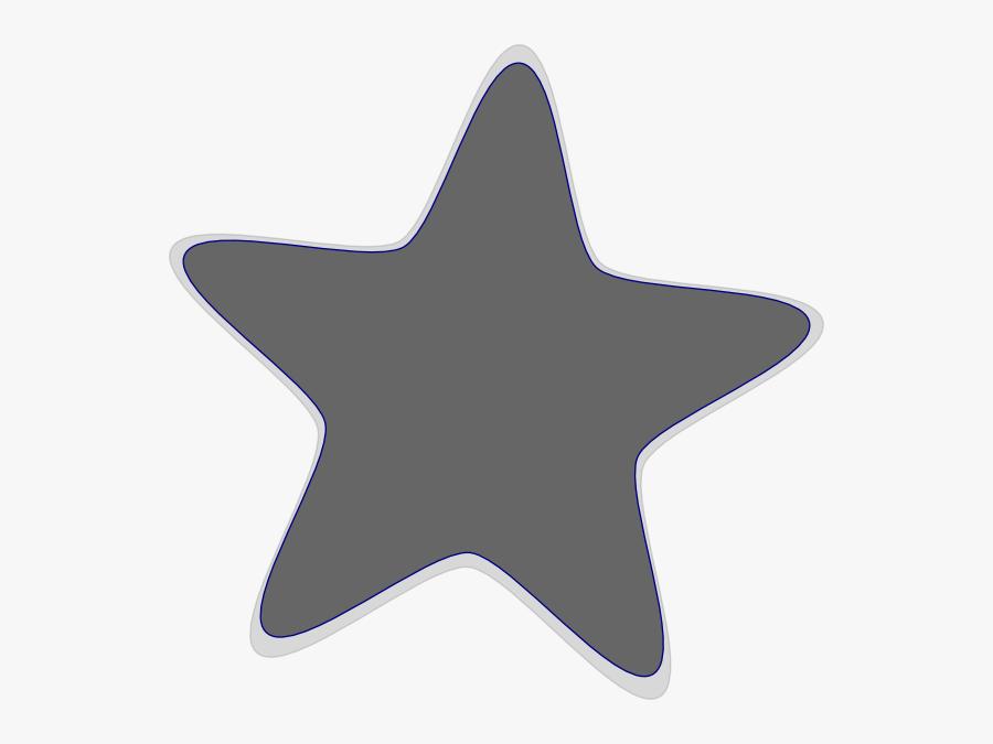 Grey Clip Art Star Hi Svg Clip Arts - Clipart Purple Star Png, Transparent Clipart