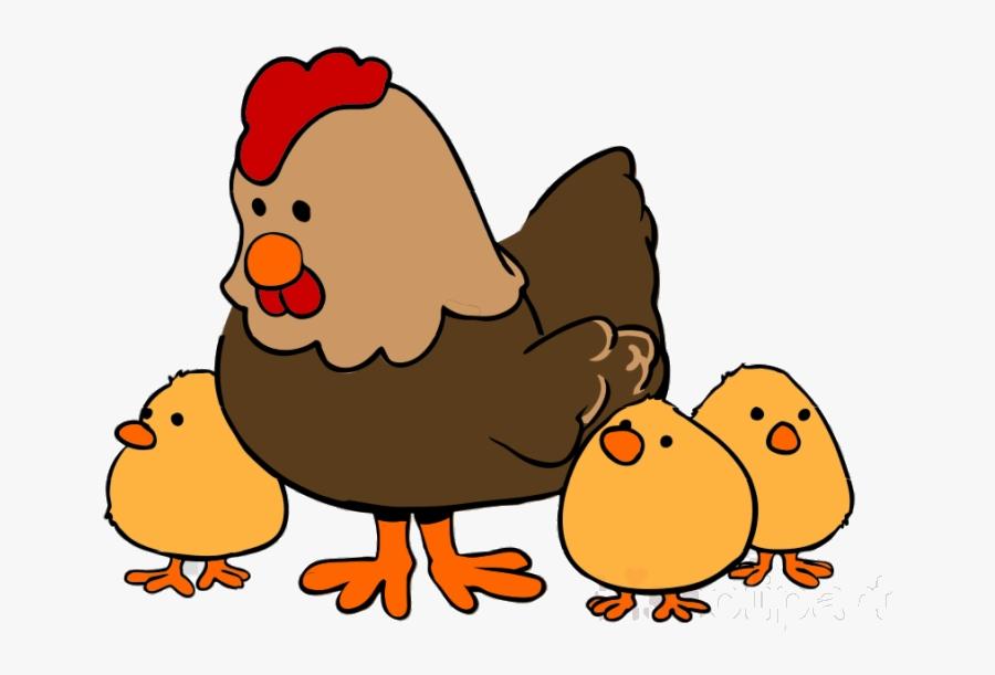 Chicken Farm Animal Clip Art Clipart Cattle And Chicks - Farm Animal Clipart Transparent, Transparent Clipart