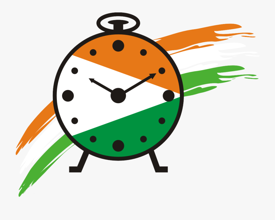 The Nationalist Congress Party, While Flexing Its Muscles, - Rashtrawadi Congress Party Logo Png, Transparent Clipart