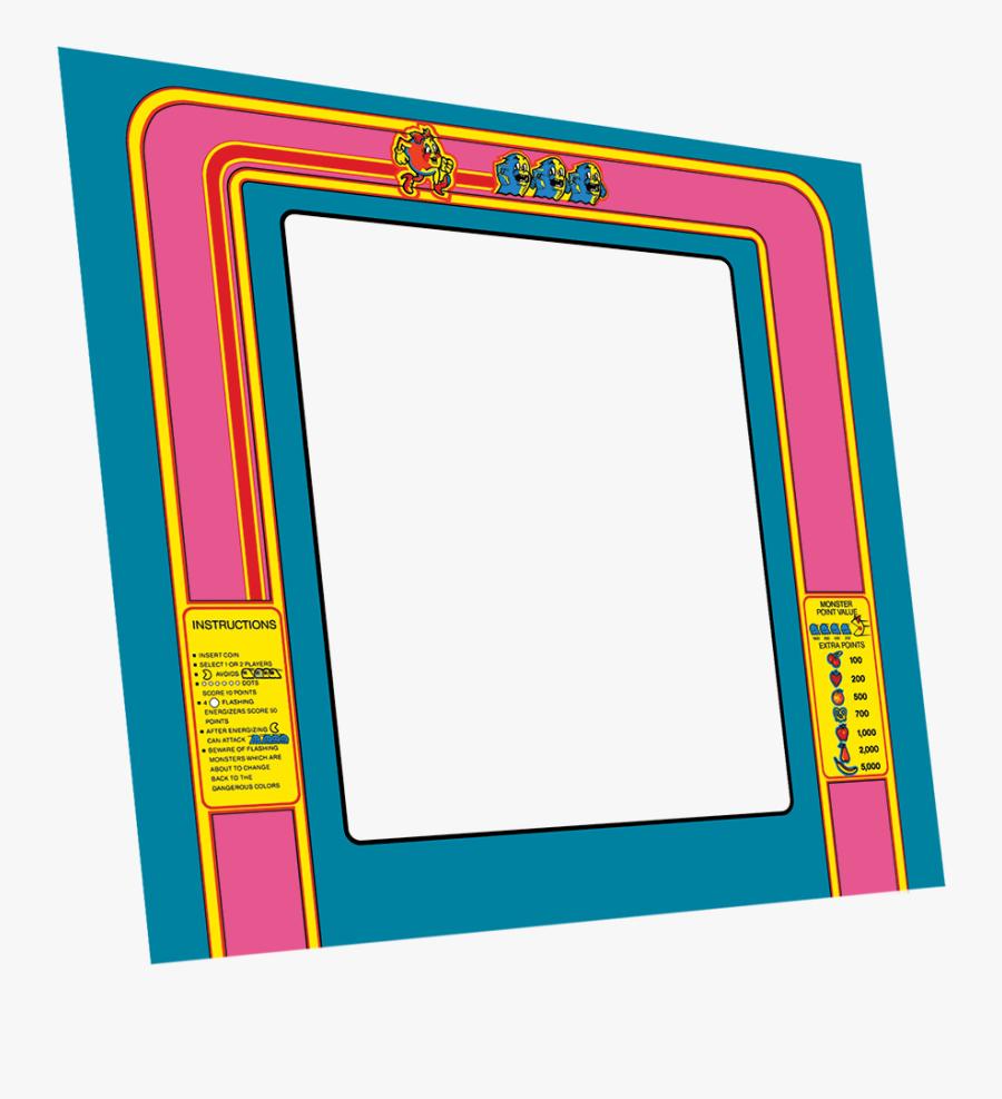 Ms Pacman Bezel, Transparent Clipart