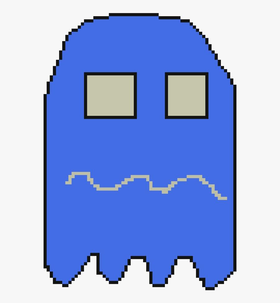 Pacman Ghost Pixel Clipart Pac-man The New Adventures - Pac Man 2 De Pixeles, Transparent Clipart
