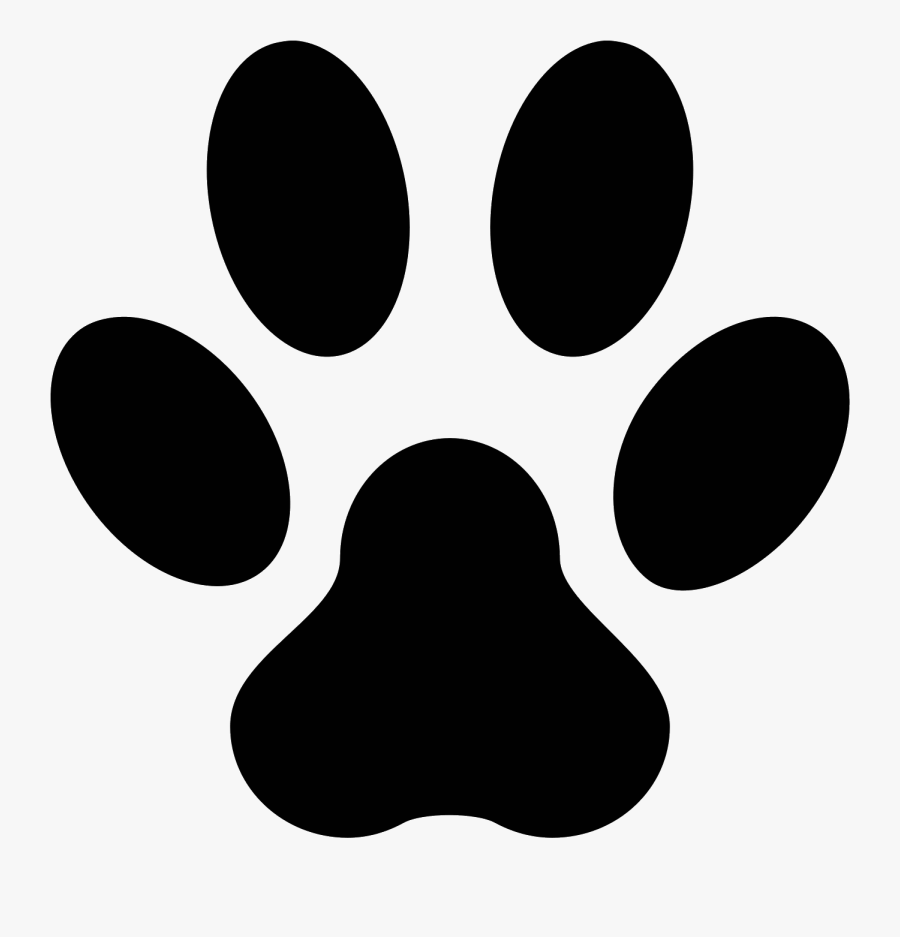 Dog Cat Puppy Animal Shelter Pet - Cat Footprint, Transparent Clipart