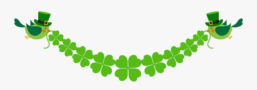 Saint Patricks Day, Luck, Clover, Grass, Leaf Png Image - Four Leaf Clover Banner, Transparent Clipart