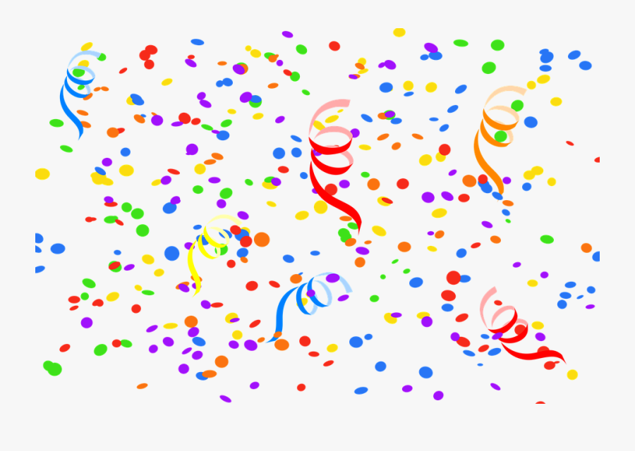"""Confetti, Streamer, Party, Carnival, New Year""""s Eve - Happy Birthday Angela, Transparent Clipart"""