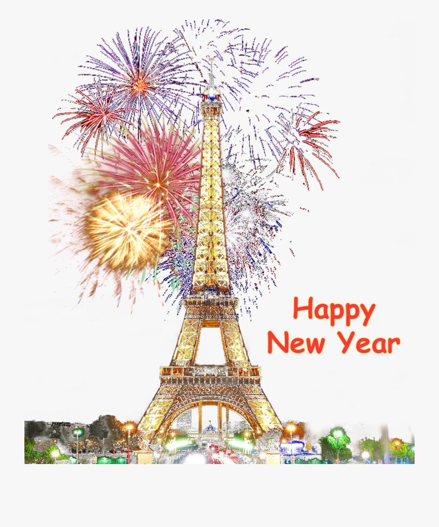 Clip Art Paris Happy No Image - Transparent Background Firework Gif Transparent, Transparent Clipart