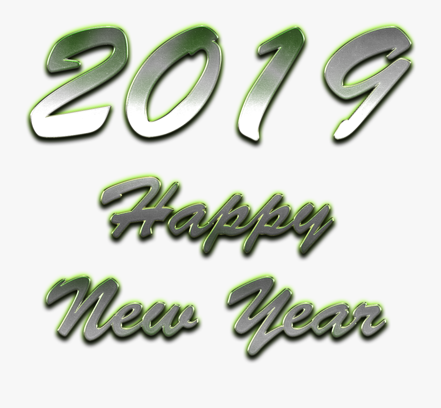 2019 Happy New Year - Car, Transparent Clipart