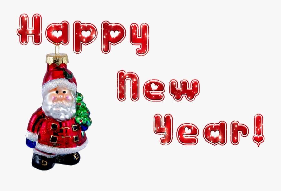 "New Year""s Eve, Santa Claus, Transparent Background - วัน ปี ใหม่ ซาน ต้า, Transparent Clipart"