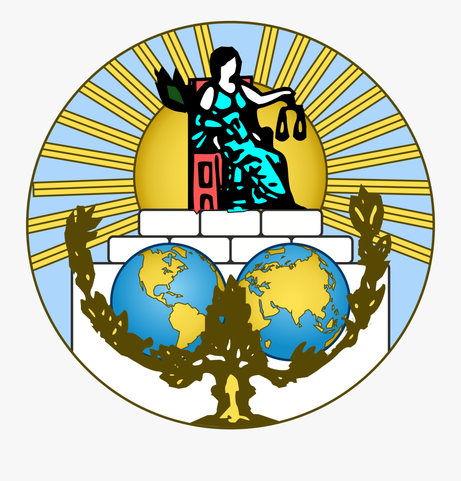 International Politics A Student - Logo International Court Of Justice, Transparent Clipart