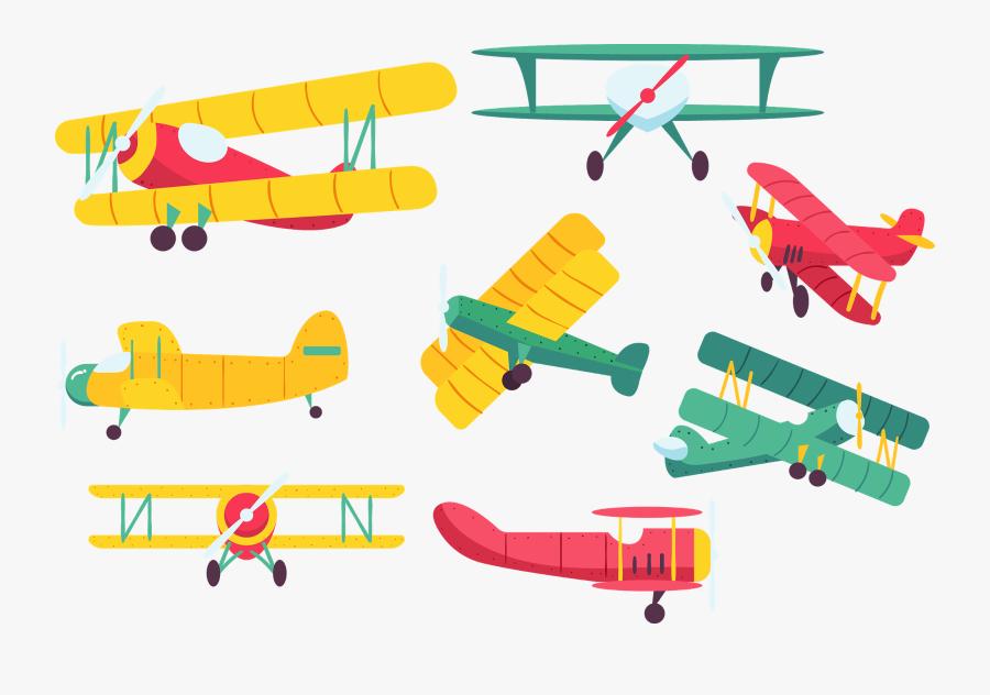 Transparent Vintage Airplane Clipart - Vintage Airplane Clipart Png, Transparent Clipart