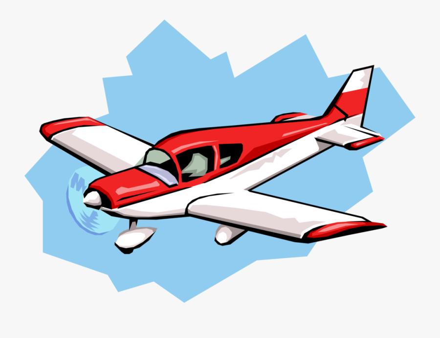 Transparent Small Plane Png - Seaplane Clip Art Red, Transparent Clipart