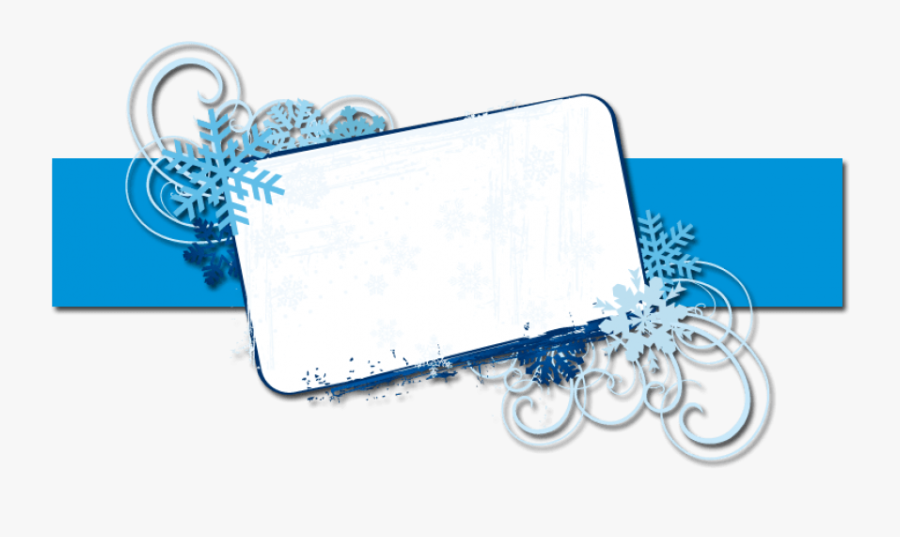 Christmas Banner Backgrounds Free Blast You Frost Banner - Background Banner Template Png, Transparent Clipart