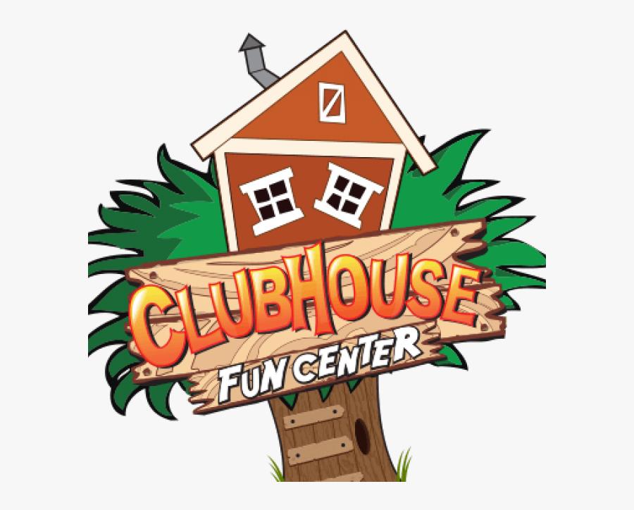 Clubhouse Fun Center Logo, Transparent Clipart