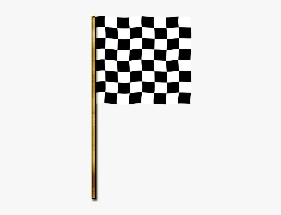 Checkered Flag Images - Checker Print, Transparent Clipart