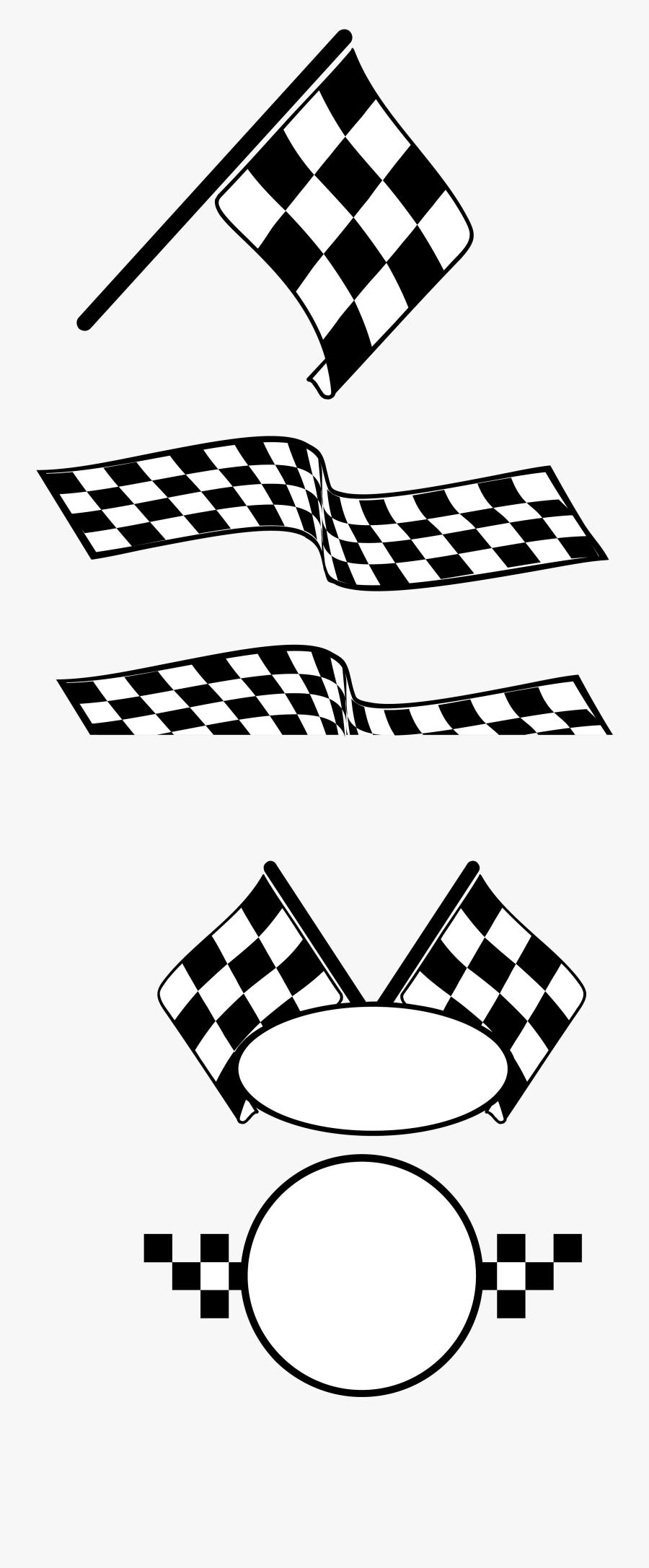 Auto Racing Racing Flags - Racing Flag, Transparent Clipart