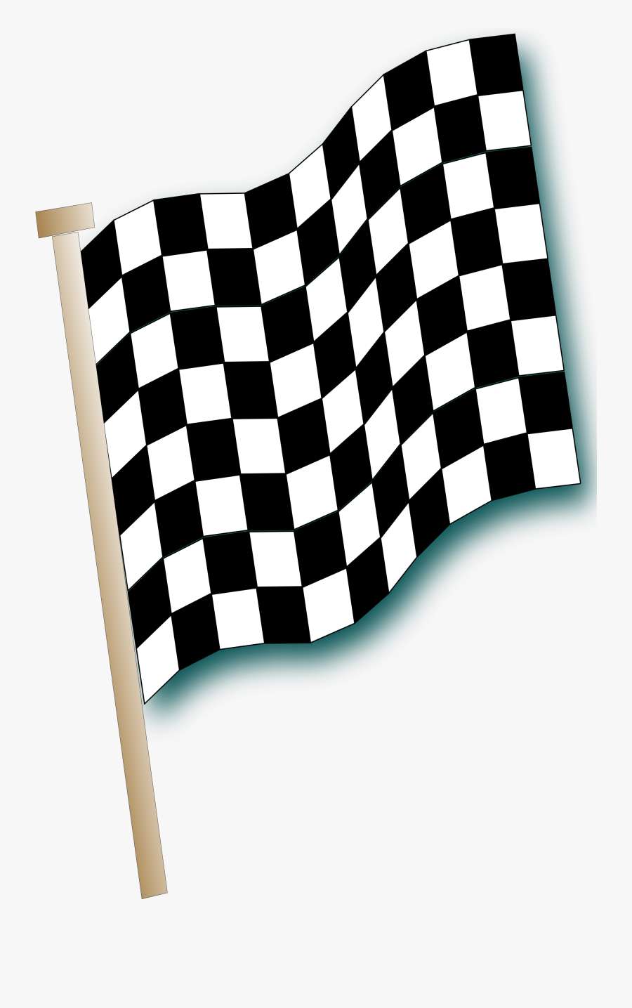 Check Clipart Flag Nascar - Checkered Flag, Transparent Clipart