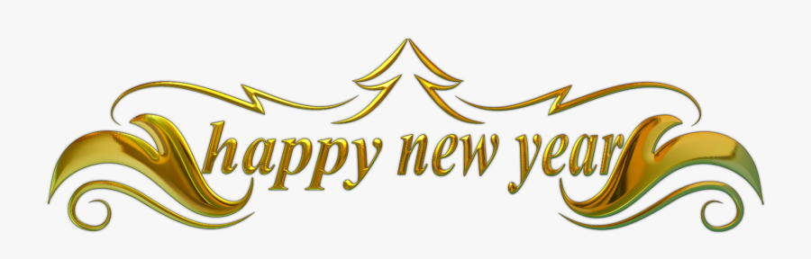 Clip Art Welcome To Happy Banner - New Years Eve Border, Transparent Clipart