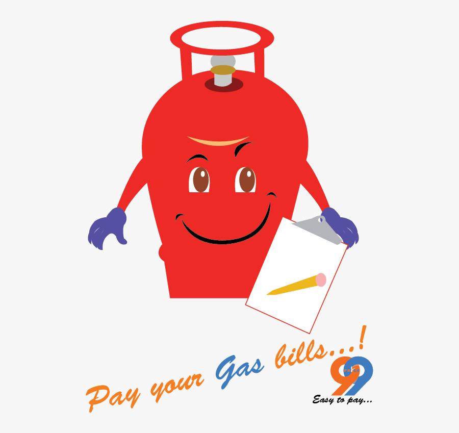 Bills Clipart Gas Bill - Liquefied Petroleum Gas, Transparent Clipart
