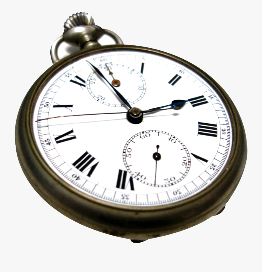 Transparent Background Pocket Watch Png, Transparent Clipart