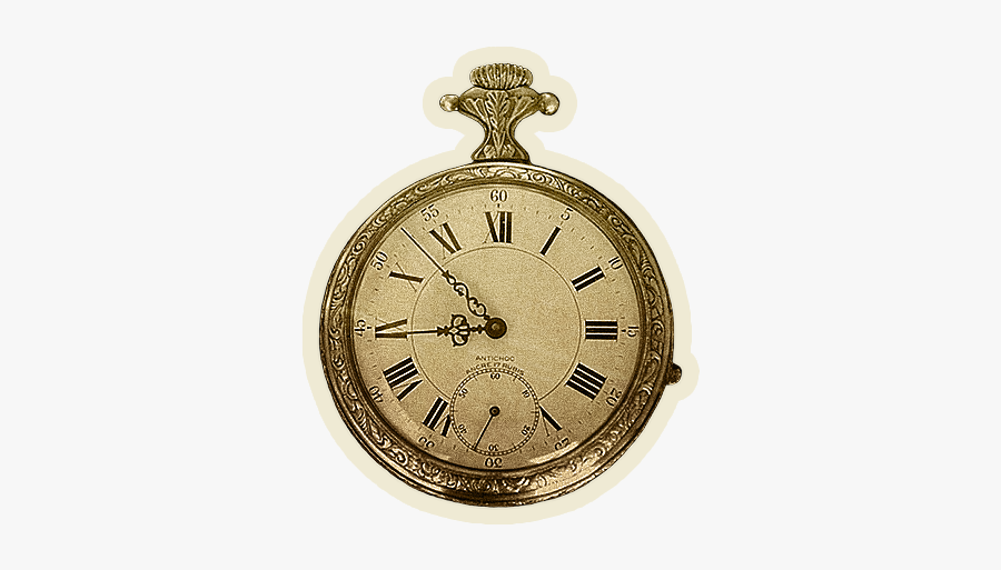 Pocket Watch, Transparent Clipart