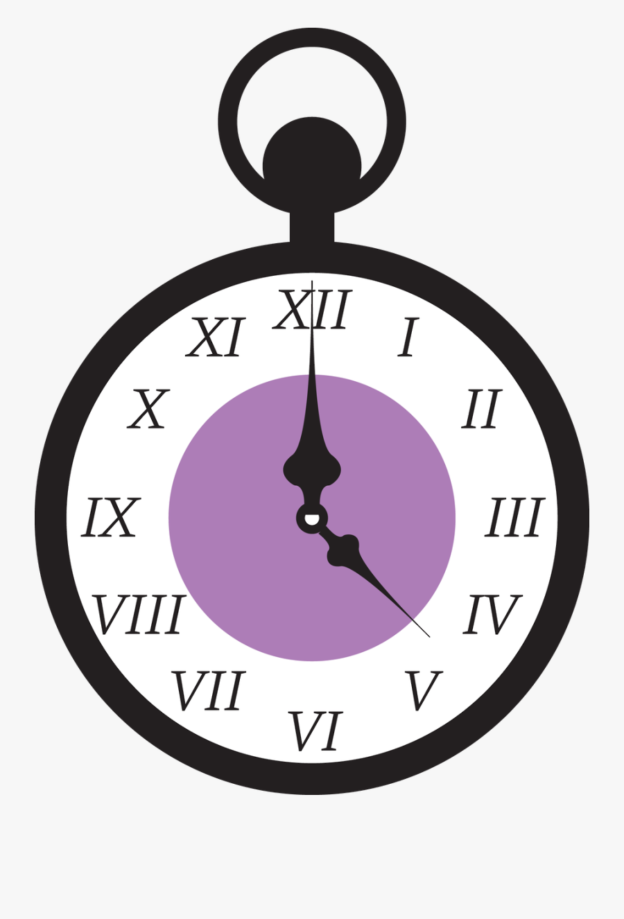 Years Eve Clipart Clock - Alice In Wonderland Clock Drawing, Transparent Clipart