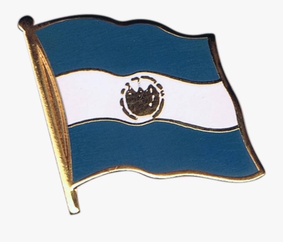 El Salvador Flag Pin, Badge - Imagenes De La Bandera Panamena, Transparent Clipart