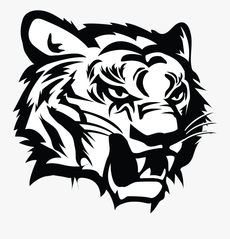 Black Tiger Logo Png - Northeast Mississippi Community College Mascot, Transparent Clipart